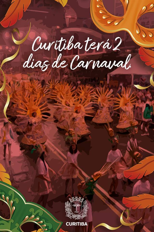 Carnaval de Curitiba terá 2 dias